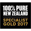 Selo: 100% Pure New Zealand Specialist 2016